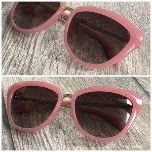 kate spade Accessories - Kate Spade Vintage Pink Cat Eye Sunglasses